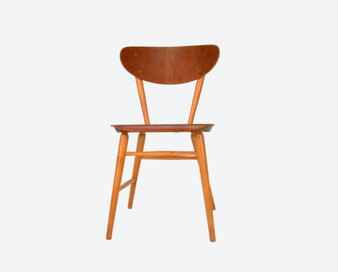 Vintage Teak Dining Chair Nr58 from Brothers Wigells factory Malmbäck 1950s