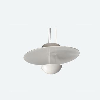 Vintage Large Aluminium Pendant Lamp Fata Morgana By Hans Arne Jakobsson Sweden