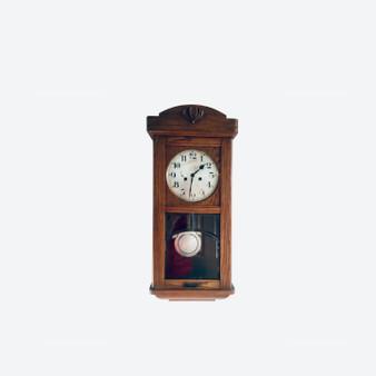 Antique Art Deco Gustav Becker Wall Clock