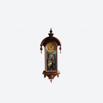 Antique Wall Clock by Wm.L. Gillbert Clock Co 1879