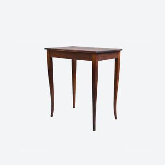Antique Art Nouveau Style Solid-wood Side Table In Oak 1900s
