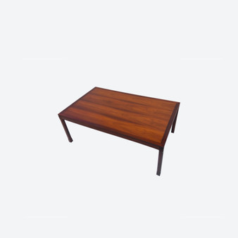 Vintage Rosewood Coffee Table For Tingströms Circa 1960s, Made In Sweden
