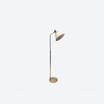 Vintage 20th Century Brass Spotlight Floor Lamp By Öia, Circa 1960's