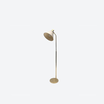 Vintage 20th-Century Brass Spotlight Floor Lamp By Öia, Circa 1960's