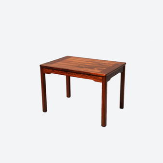 Vintage Danish Style Rosewood Coffee Table By Alberts Tibro, Sweden In 1972