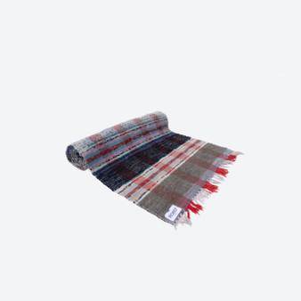Contemporary Swedish Handwoven Cotton - Craftsmanship Multicolour Rag Rug