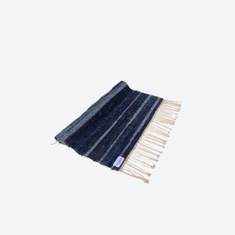 Contemporary Ombré Swedish Handwoven Cotton Craftsmanship Multicolour Rag Rug