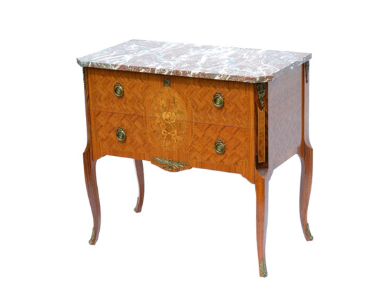 Antique Style Chest of Drawer 20th Century with Granite Surface