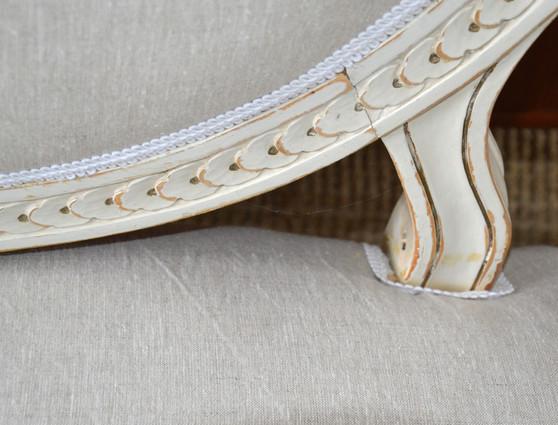 Antique Swedish Gustavian Sofa 19th Century