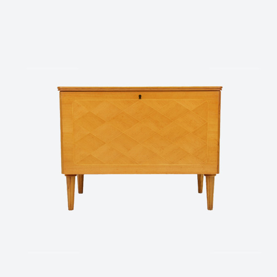 Vintage Cabinet by H.Sundling AB Tranås with Philips Record Player 1950/60s