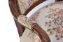 Vintage Luis XV Style Armchair, Mid 20th Century