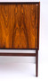 Vintage Danish Style Rosewood Dry Bar Cabinet, Circa 1960's, Branded