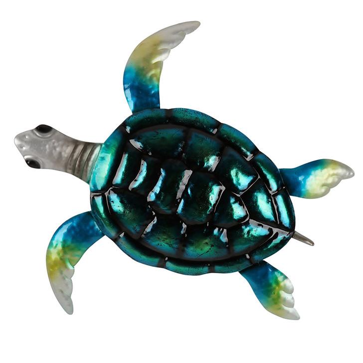 Sealife Turtle Metal Wall Art 49cm