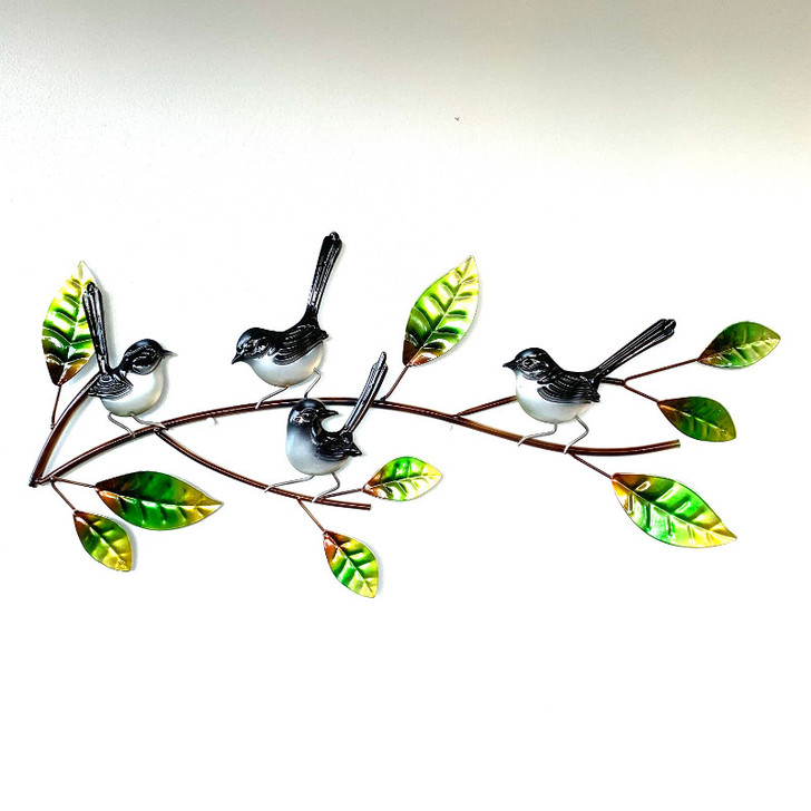 Willie Wagtail Sitting On a Branch