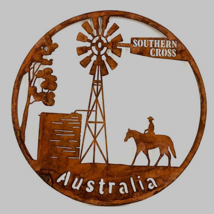 Australiana Southern Cross Metal Wall Art cm