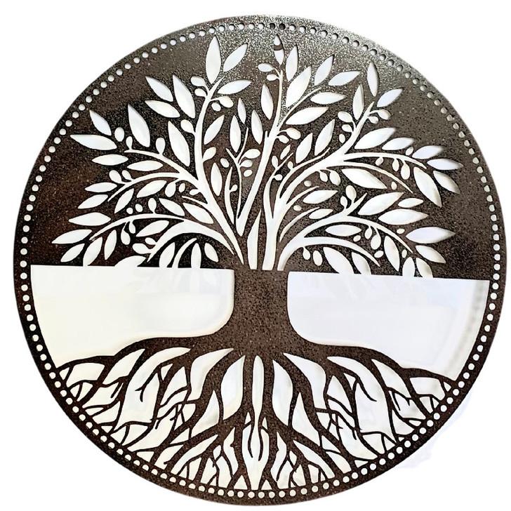 Tree of Life Metal Wall Hanging Art 50cm