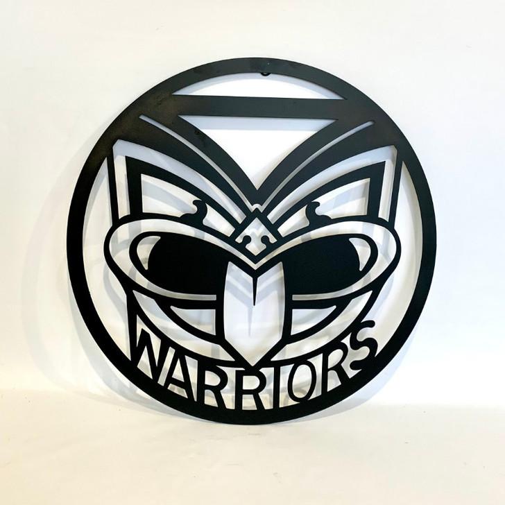 New Zealand Warriors 50cm Metal Wall Art