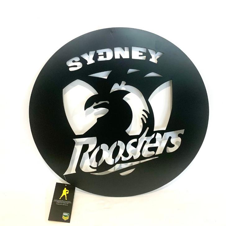 Sydney Roosters NRL Metal Wall Art 50cm