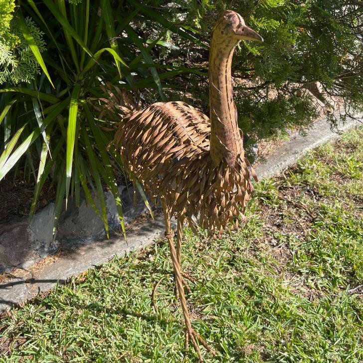 Emu Chick Metal Garden statue 79cm