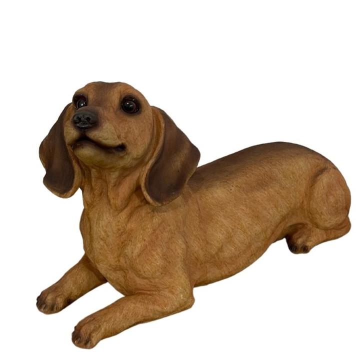 Dachshund Dog Garden Statue cm