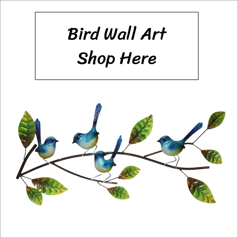 Metal Wall Art Birds Shop online