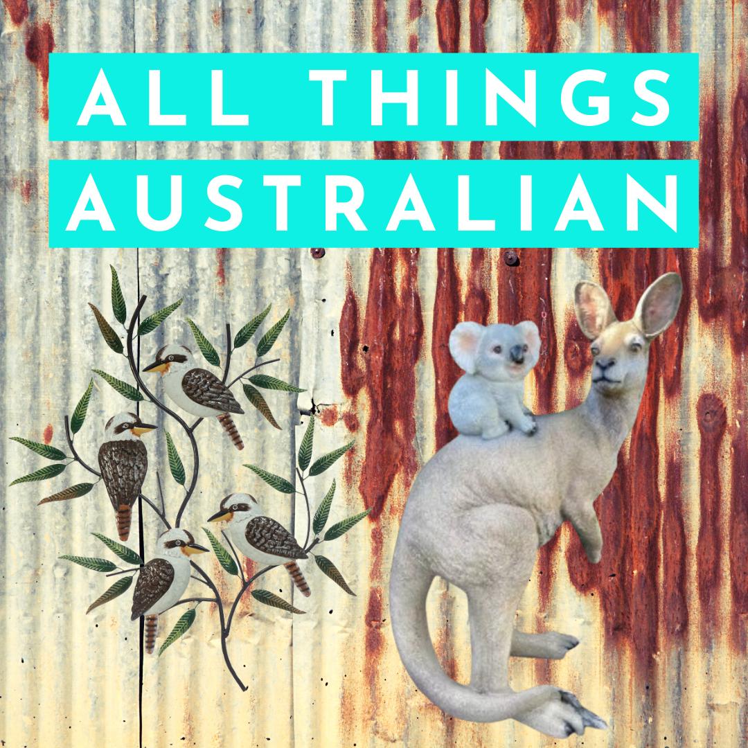 Australian themed garden & home decor