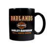 Badlands Harley Davidson® Western Font Coffee Mug