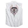 Harley-Davidson® Men's Pinstripe Flames White Blowout