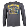 Sturgis Harley-Davidson® Men's Ft. Meade Biker Long Sleeve T-Shirt