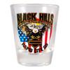 Black Hills Harley-Davidson Patriotic Eagle Short Shot Glass