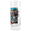 Hill City Harley-Davidson Vintage Collage Tall Shot Glass