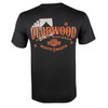 Deadwood Harley-Davidson® Men's Cards Black Short Sleeve T-Shirt