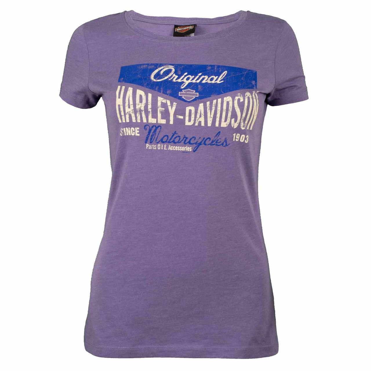 Sturgis Harley-Davidson® Women's Attraction Purple T-Shirt