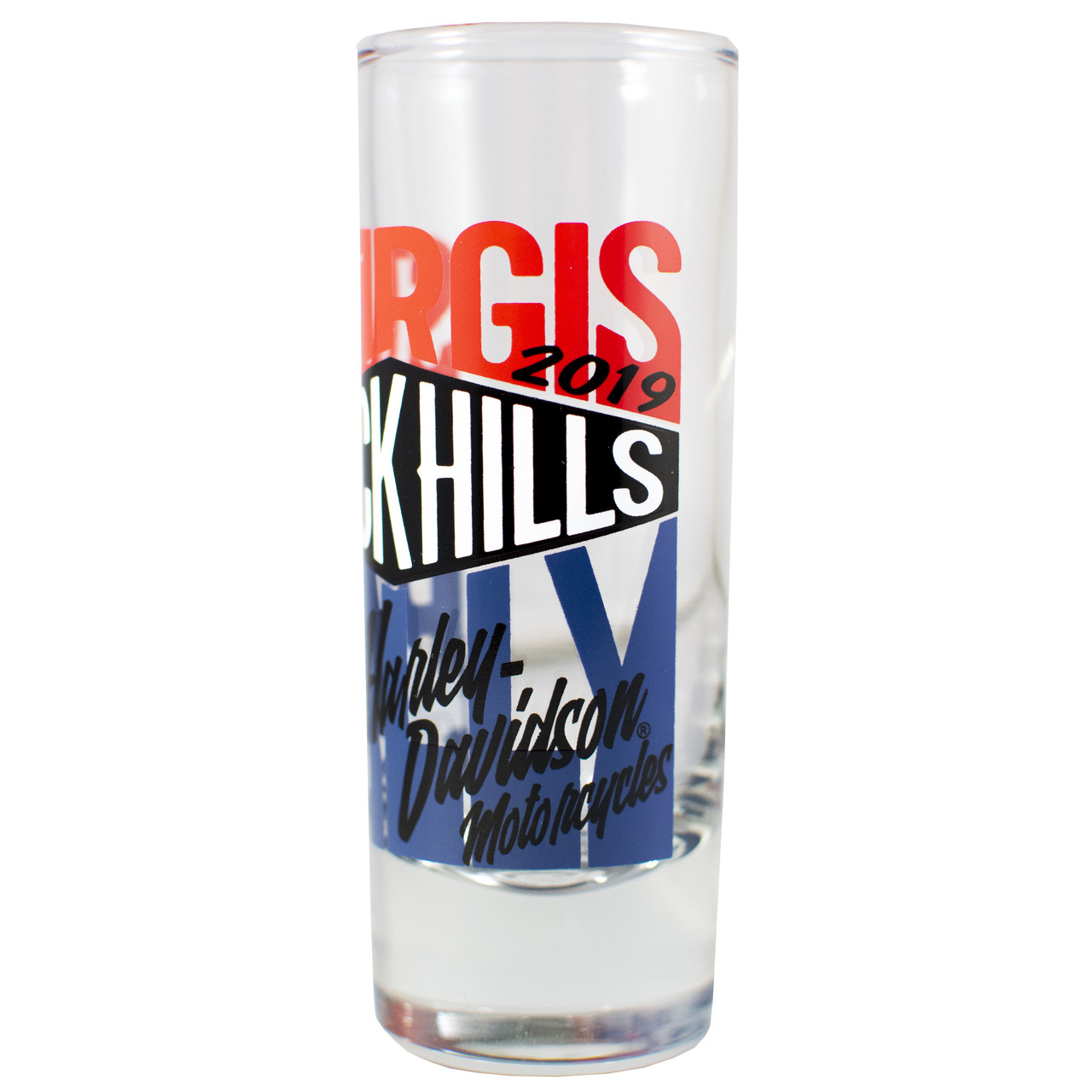 2019 Sturgis Harley-Davidson® 79th Rally Tall Shot Glass