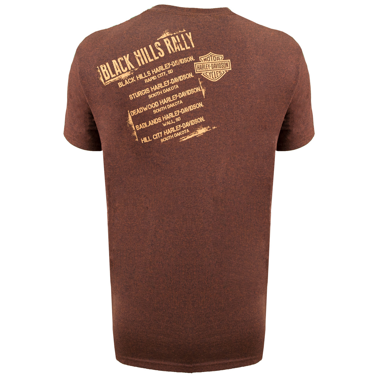 2019 Sturgis Harley-Davidson Men's Shoulder 79th Rally T-Shirt