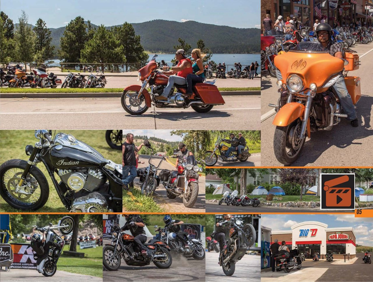 The 75th Black Hills Motor Classic Collectible Photo Book