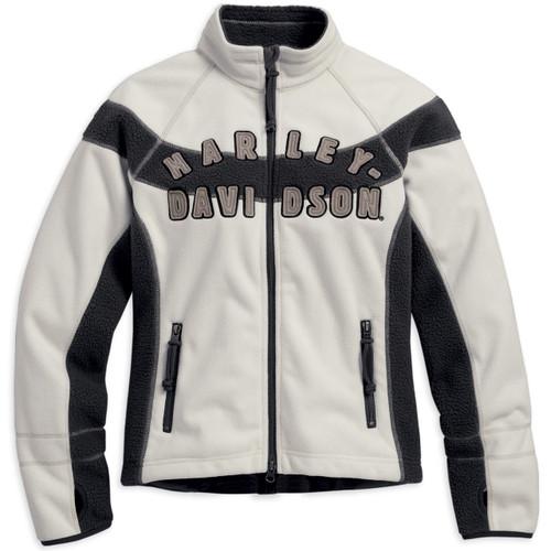 Harley-Davidson Women's Rally Inline Windproof Fleece Jacket 98572-16VW