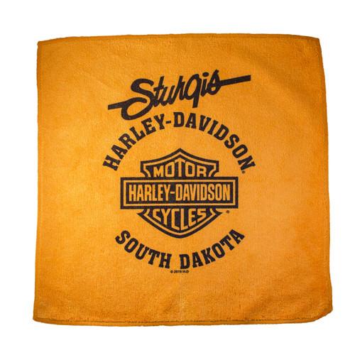 Sturgis Harley-Davidson® Orange Shop Towel