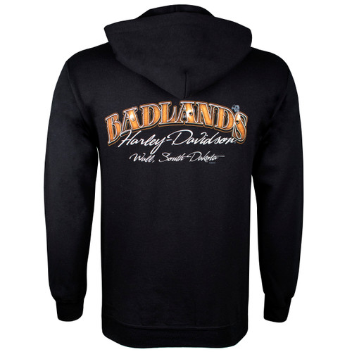 Badlands Harley-Davidson® Men's Badlands Skull Pullover Hoodie