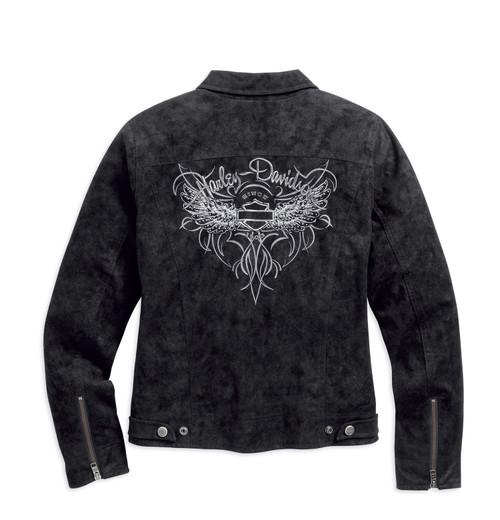 Harley-Davidson Women's Soar Sueded Jacket 98566-16VW