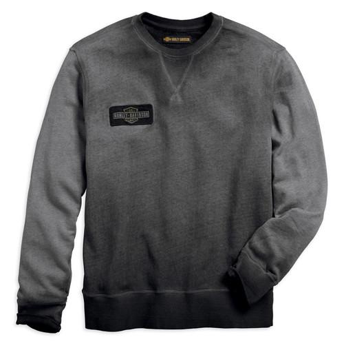 Harley-Davidson Men's Crew Neck Pullover Slim Fit Sweatshirt 99022-18VM