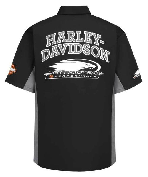 Harley-Davidson Men's Screamin' Eagle Competitor Crew Shop Shirt