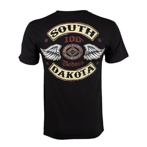 Badlands Harley-Davidson® Men's Rocker Diamond Short Sleeve T-Shirt