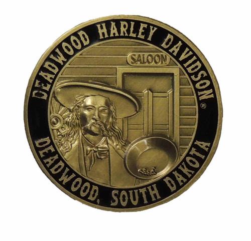 Deadwood Harley-Davidson® Wild Bill Challenge Coin