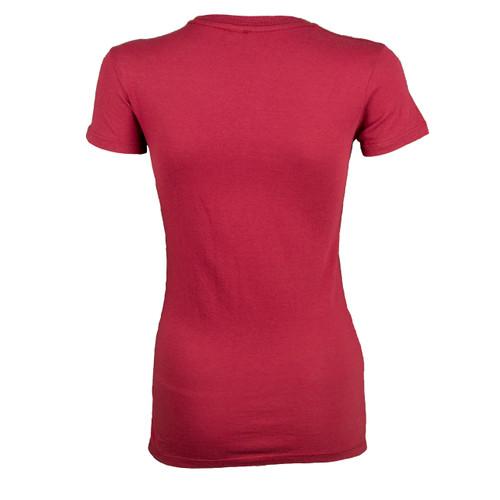 Sturgis Harley Davidson® Women's Sunflower Vintage Red Short Sleeve T-Shirt