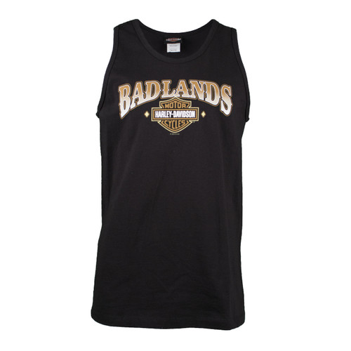 Badlands Harley-Davidson® Men's Thenadays Black Tank Top
