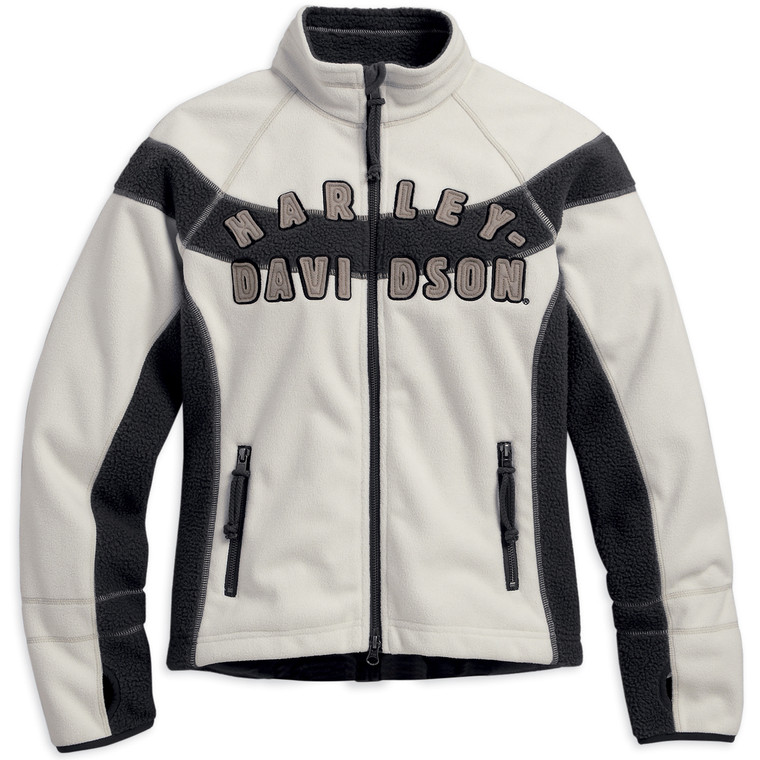 Harley-Davidson Women's Rally Inline Windproof Fleece Jacket 98572-16VW
