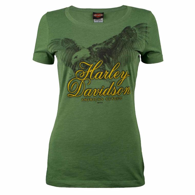 Sturgis Harley-Davidson® Women's Soar Green Short Sleeve T-Shirt