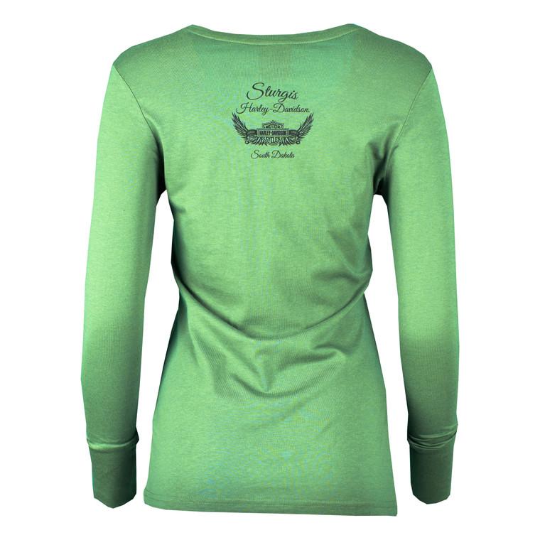 Sturgis Harley-Davidson® Women's Pristine Long Sleeve Shirt