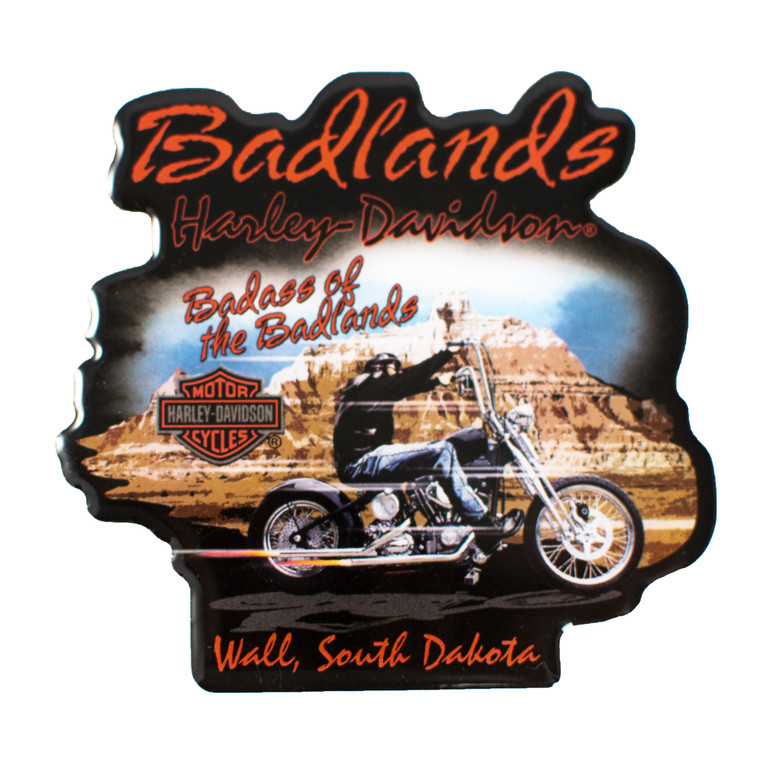 Badlands Harley Davidson®  Badass of the Badlands Magnet